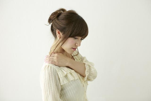 肩の痛み画像①